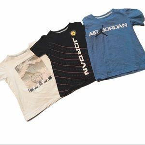 Jordan shirts size 7 boys